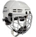 Bauer RE-AKT 100 Youth casco Combo incl. Cage bianco