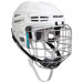 Bauer IMS 5.0 helmet combo (incl. cage) white