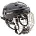 Bauer RE-AKT 150 casco Combo con gabbia nero