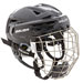 Bauer RE-AKT 150 Hockey Cascos Combo con verja negro
