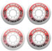 BASE Mr Hockey Indoor Wheels Set of 4 74A