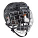 CCM Fitlite 3DS Helmet Combo Youth noir