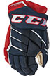 CCM Jetspeed FT390 Glove Junior LE navy-red-white