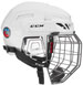 Kask CCM Fitlite FL90 Combo bialy