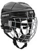 Bauer RE-AKT 100 Youth casco Combo incl. Cage nero