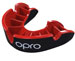 OPRO Mouth Guard Bambini silver Gen4 black-red