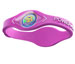 Power Balance Wristband Silicon pink/blanc