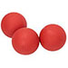 Sidelines Roller-Hockey balls for Hot Weather - Set of 3