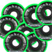 Labeda Shooter Hockey Wheels Set med 8
