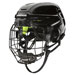 Warrior Alpha One casque Combo Enfant noir incl. grille