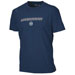 T-Shirt Warrior Logo T-Shirt Hockey blu scuro