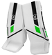 Warrior Ritual G5 goalie pad Bambini white-black-green