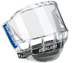 Bauer Concept 3 Cara Visera Junior