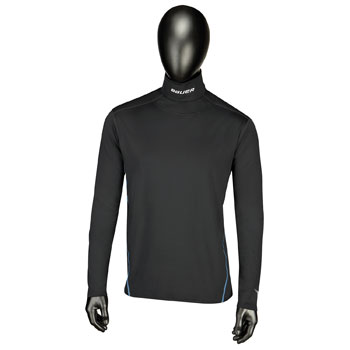 Bauer Core LS Integrated Neck Top Senior