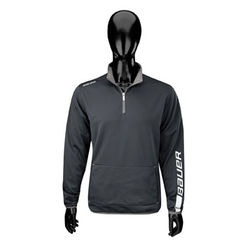 Bauer EU Team Jogging Zip Shirt Senior black