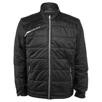 Bauer Full Zip Bubble Flex Jacket Bambini Junior black