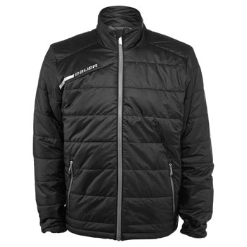 Bauer Full Zip Bubble Jacke Flex Bambini/Junior schwarz