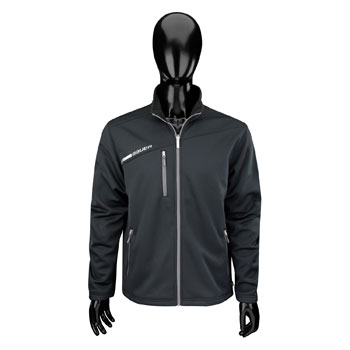 Bauer Full Zip Fleece Flex Tech Jacket Senior black