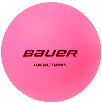 BAUER Hydrog Ball - Liquid filled pink - kalt