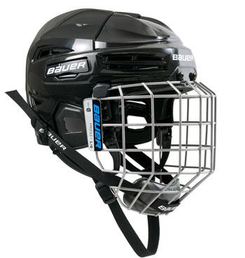 Bauer IMS 5.0 helmet combo (incl. cage) black