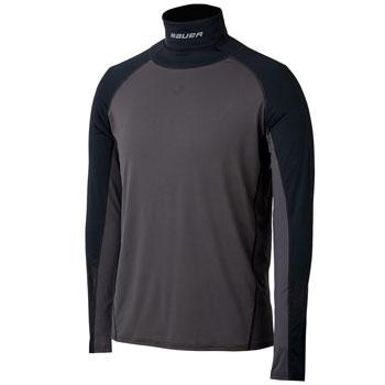 Bauer Integrated Neckprotect longsleeve Shirt Junior