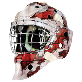 Bauer NME 4 Goalie Wall Design Mask Youth