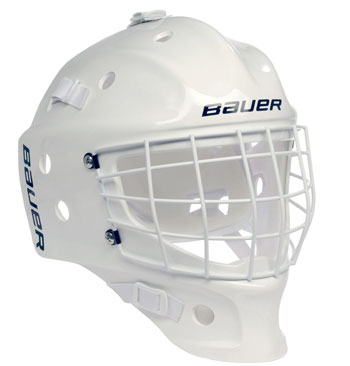 Bauer NME White masque de gardien Youth