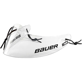Bauer Profile Lexan Throat Protector Senior