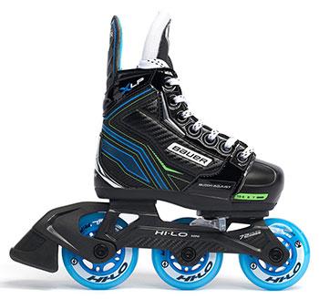 Bauer Roller Hockey Skate X-LP regolabile bambino