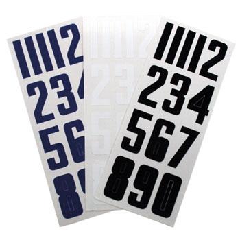 Bauer self-adhesive Numbers for Helmet Set 0-9