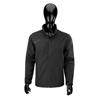 Bauer Soft Shell Team Jacket Senior black