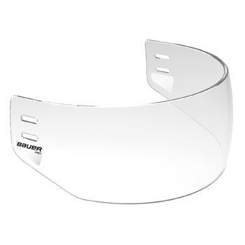 Bauer Visor Pro Straight clear Half Shield