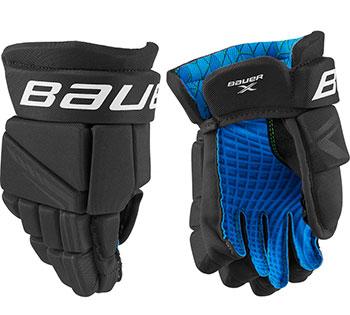 Bauer X Hockey Gloves Senior black