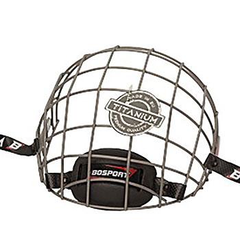 Bosport Cage Face Protector Uni Titanium Junior