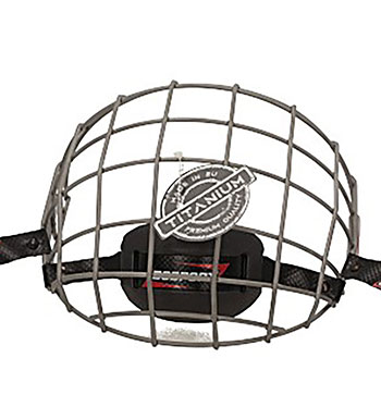 Bosport Cage Face Protector Uni Titanium Youth