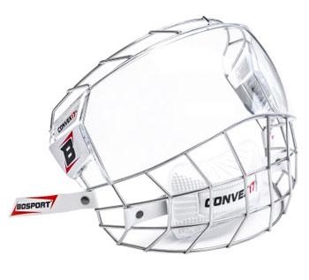 Bosport Convex17 Combo visera del casco híbrido Junior