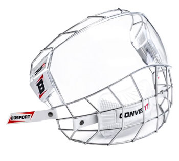 Bosport Convex17 Combo Visor and Cage Senior