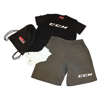 CCM Dryland Kit Senior Noir-gris-blanc