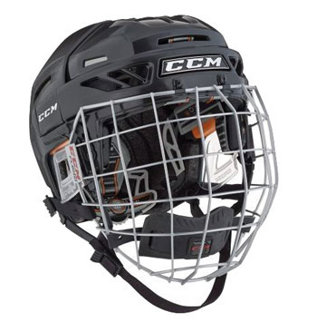 CCM Fitlite 3DS Helmet Combo Youth negro