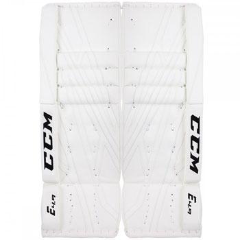 CCM Goalie Leg Pad Extrem Flex E 4.9 Intermediate white