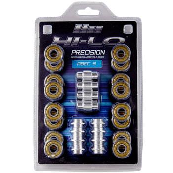 Hi Lo Bearing Abec 9 16 Pack