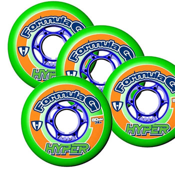Hyper Formular G ''ERA'' Indoor Wheels Set of 4
