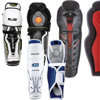 Ice Hockey Shinguard Reststock Junior