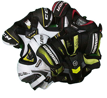 Ice Hockey Shoulder Pad Reststock Junior