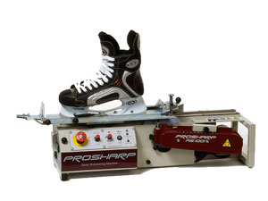 Ice-Skate-Grinding with High-End-Machine, for one pair of Ice Skates