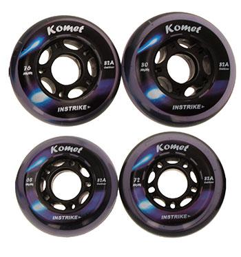 Instrike Komet 82A Outdoor Profi Wheel Set of 4 outdoor
