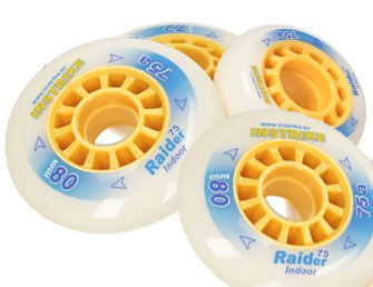 INSTRIKE Raider 75A Wheel pieces Set of 4 Profi Indoor