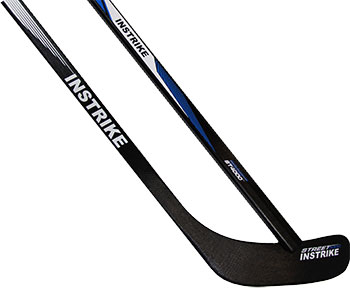 "Instrike Street ST4000 palo de hockey de madera Bambino 46"""