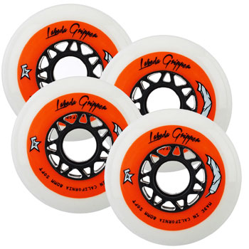Labeda Gripper Soft Wheels Indoor 4 pieces