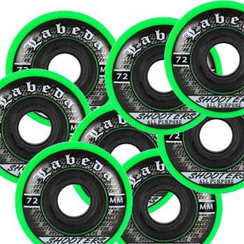 Labeda Shooter Hockey Wheels Set of 8